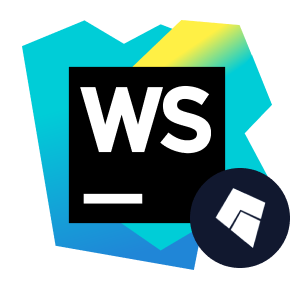 kite and webstorm logos
